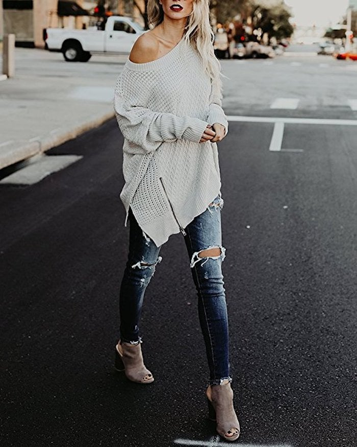 Beautife Cable Knit Sweater