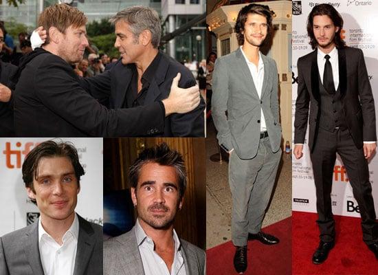 Photos of Colin Farrell, Ben Barnes, George Clooney, Ewan McGregor, Ben Whishaw, Cillian Murphy at Toronto Film Festival 2009