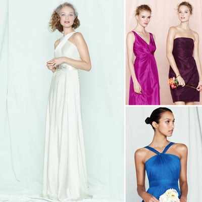Check Out J Crew's Latest Bridal Collection Including Wedding Dresses and Bridesmaid Dresses