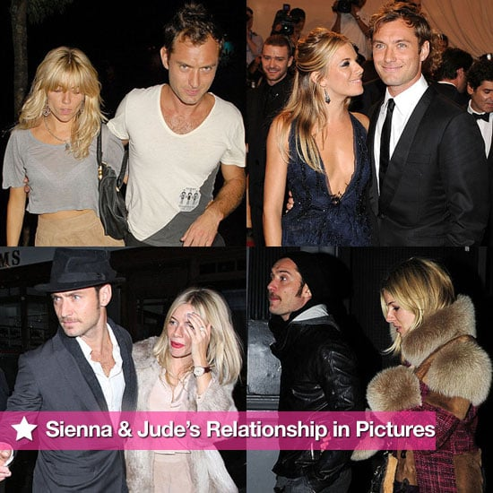 Pictures of Sienna Miller and Jude Law's Relationship Following Their Breakup