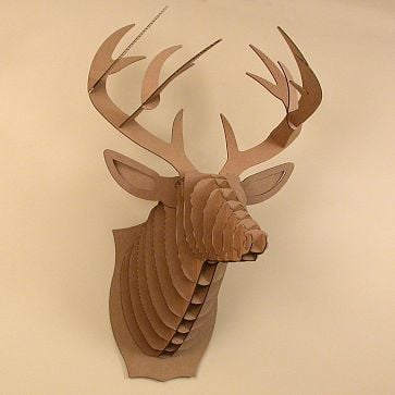 West Elm Buck Jr. Deer ($12)