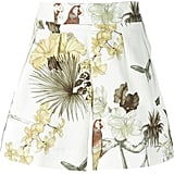 Etro floral butterfly bird print shorts (£235)