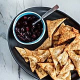 Crispy Sweet Potato Wontons With Cranberry Sauce