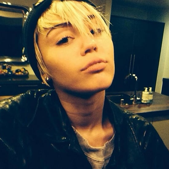 Miley Cyrus With Eyebrows | Photo