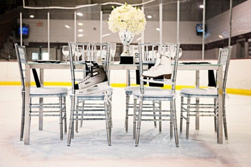 Ice Rink Reception