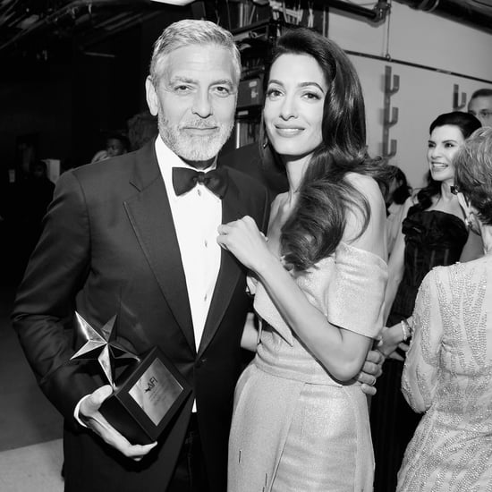 George and Amal Clooney   Black-and-White Photos