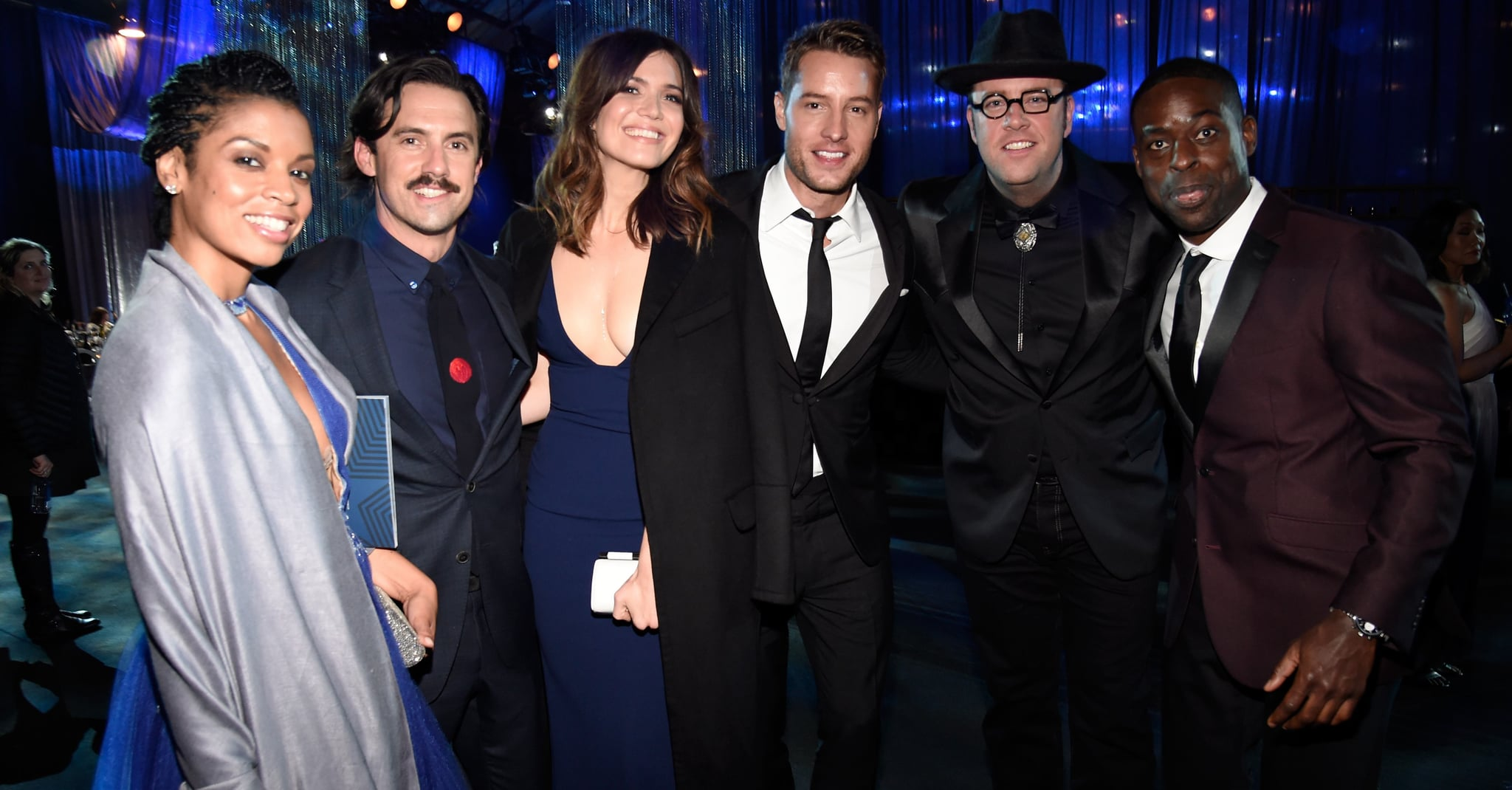 qlabc This Is Us Cast Reactions to Golden Globe Nominations 2017