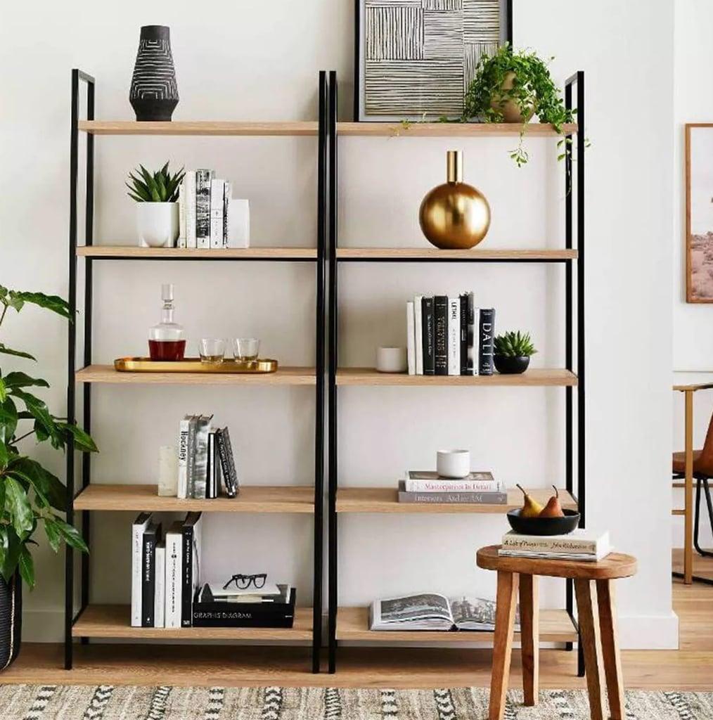 "Project 62 72"" Loring 5 Shelf Ladder Bookcase"