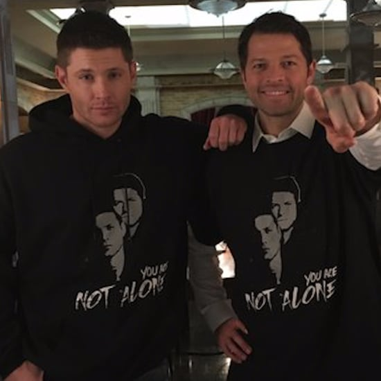 Jensen Ackles and Misha Collins Start Crisis Hotline (Video)