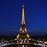 Paris, France saw a stunning tribute to Nelson Mandela, which included a glowing message on the Eiffel Tower.