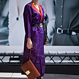 Invest in a Purple Dress You Can Wear With Your Black Boots