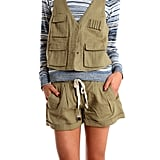 Pop this vest over a blouse or tee for instant military-inspired cool. Charlotte Ronson Army Vest ($130, originally $185)