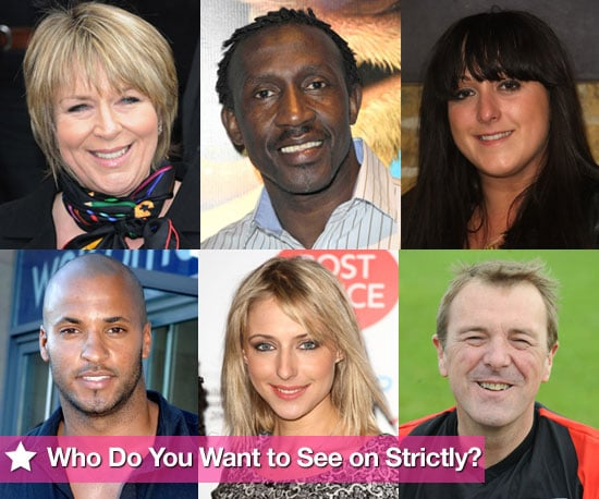 Slideshow of Possible Rumoured Strictly Come Dancing Lineup Contestants 2009 Series 7