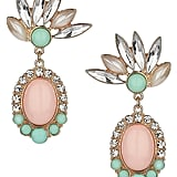 Topshop Pastel Stone Drop Earrings ($20)