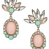 Topshop Pastel Stone Drop Earrings ($20)