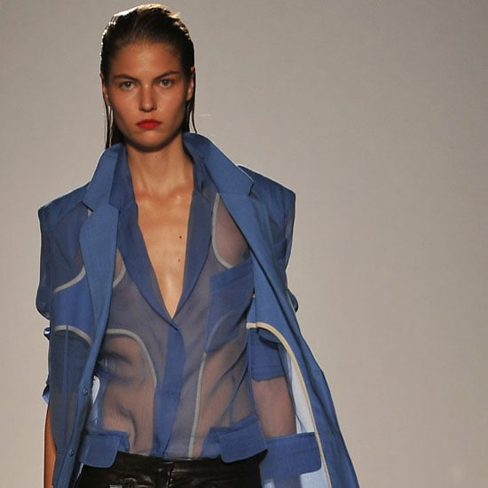 Pictures and Review of Barbara Bui Spring Summer Paris Fashion Week Runway Show