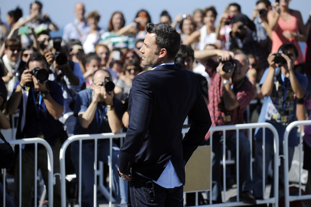 Ben Affleck Shows Off Argo in Spain