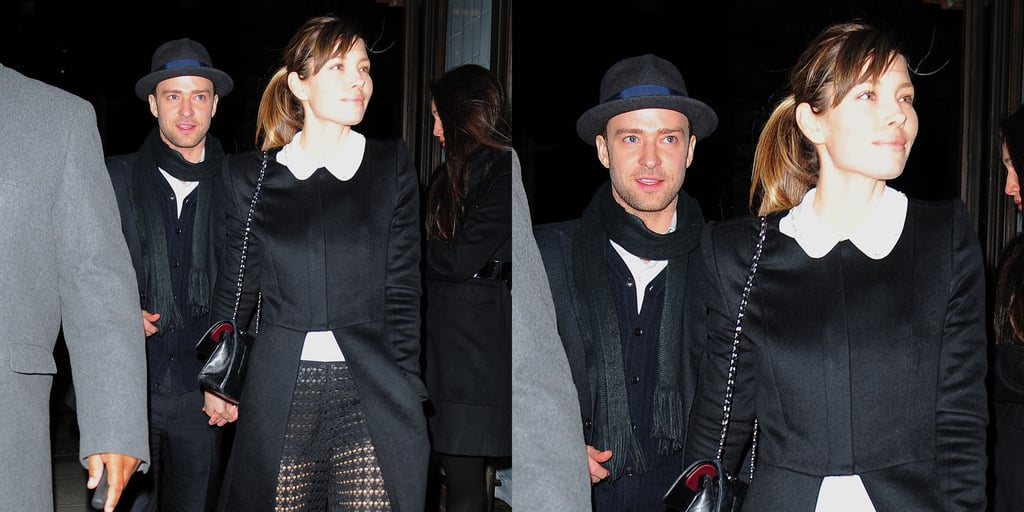 Justin Timberlake And Wife Jessica Biel At Timbaland's Party