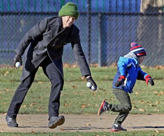 Tom Brady in Boston With Jack and Benjamin  8455efe13f78