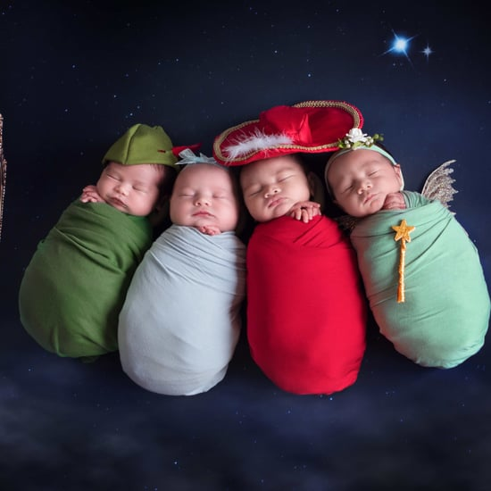 Peter Pan Newborn Photo Shoot