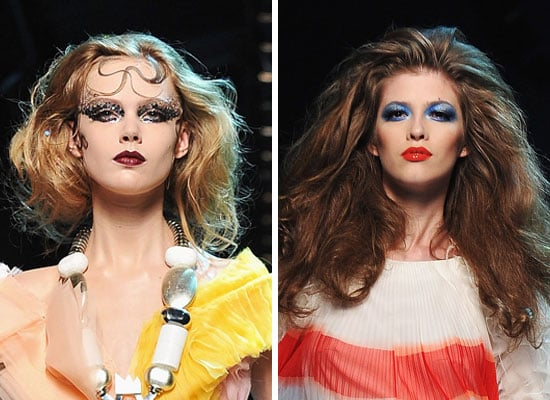 Pictures of Hair, Makeup and Beauty Looks from 2011 Autumn/Winter Christian Dior Haute Couture