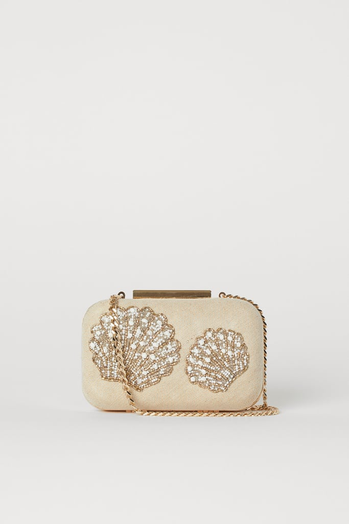 H&M Clutch with Beaded Embroidery