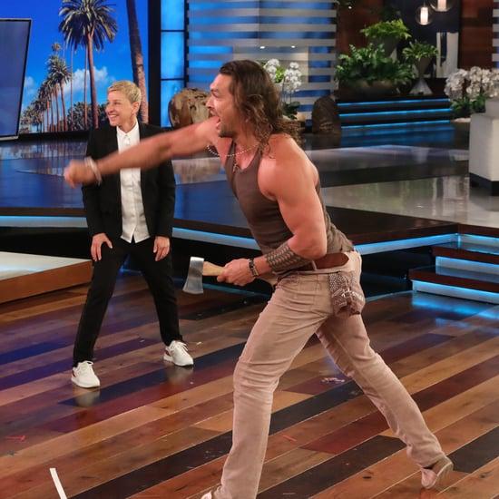 Jason Momoa on The Ellen DeGeneres Show Videos 2019