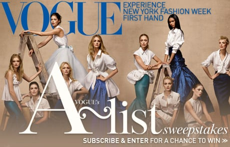 Strike a Pose There's Nothing to It! Vogue Sweepstakes!