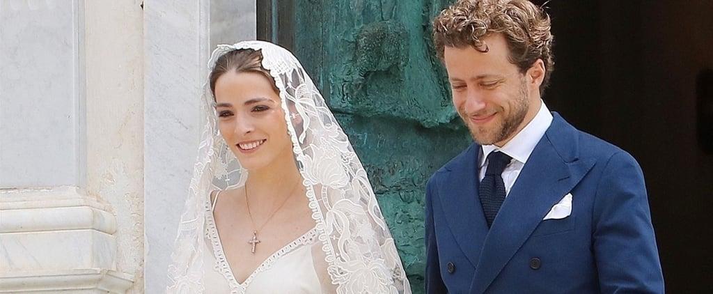 Bee Shaffer's Wedding Dress in Italy 2018