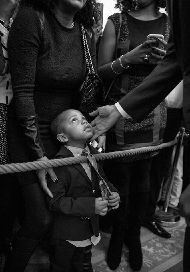 "Throughout his time in office, President Barack Obama has shared more than a few sweet moments with kids. Along with all his thoughtful quotes on fatherhood, he's also shown his love for little ones when he meets them during appearances or when they visit him at the White House. Amid all the silly faces and funny antics, there have been some powerful moments, too. Who could forget the compelling photo taken when a little boy asked to touch Obama's hair, saying, ""I want to know if my hair is just like yours""? Take a look back at some of President Obama's cutest moments with kids, then see his sweetest photos with daughters Sasha and Malia.      Related:                                                                Malia and Sasha Obama's Cutest Moments With Dad Barack                                                                   28 Pictures That Prove the Obamas Are the Cutest Parenting Duo Ever                                                                   53 Moments From Obama's Presidency We'll Never Forget"