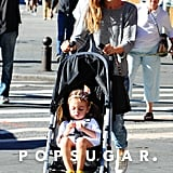 Sarah Jessica Parker Takes Kids to School | Pictures