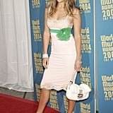 At the World Music Awards in 2004