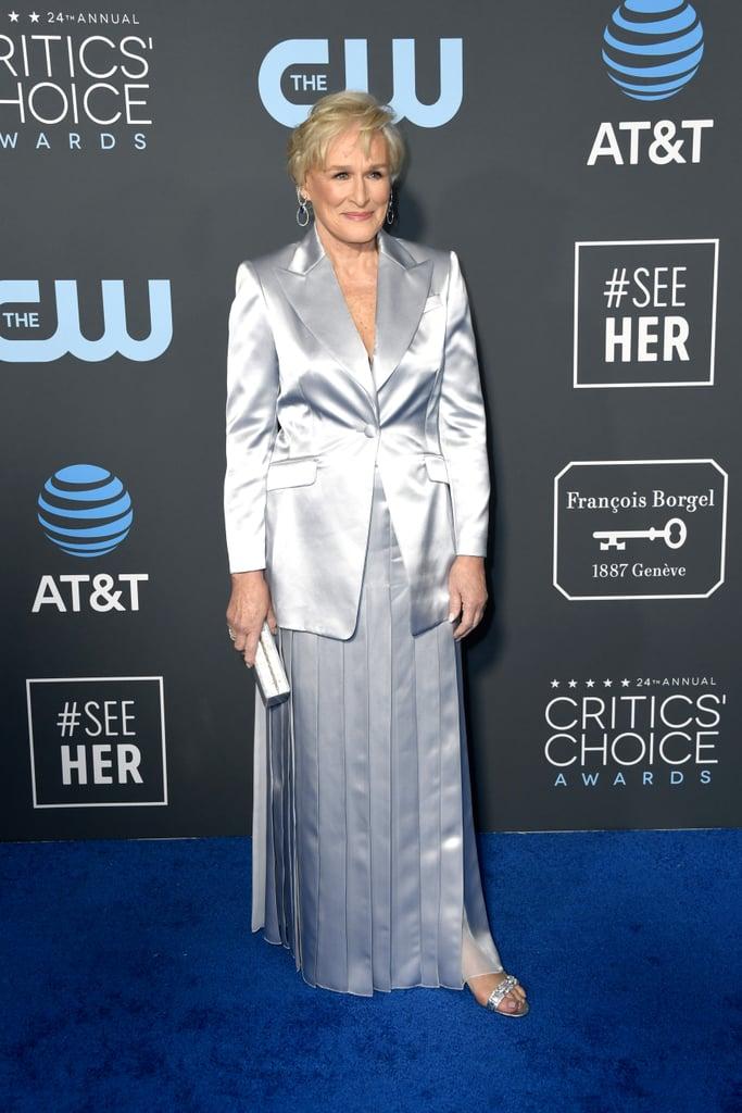 Glenn Close at the 2019 Critics' Choice Awards