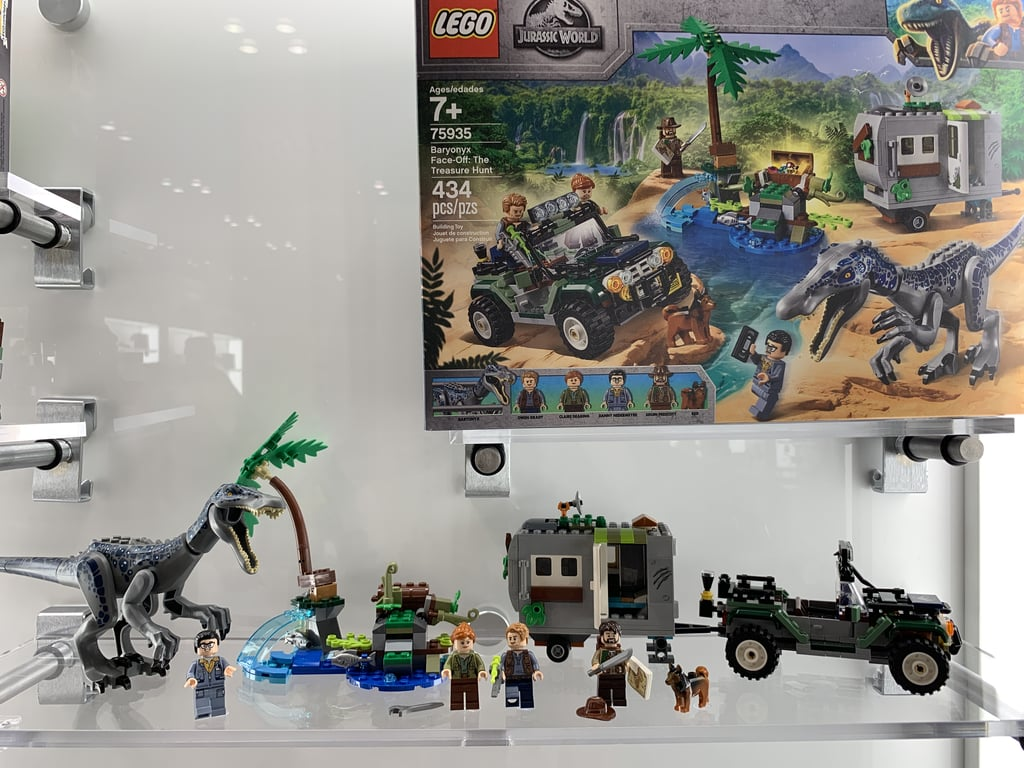 Lego Jurassic World Baryonyx Face Off The Treasure Hunt Best New