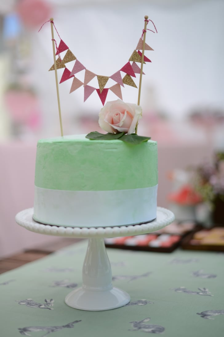 Smash Cake Bunny First Birthday Party Ideas Popsugar