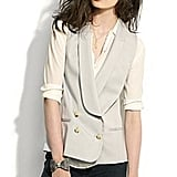 This Blazer Vest ($50, originally $168) lends instant style. Pair it with jeans or a dress.