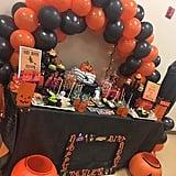 Orange and Black Party