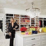 "Khloé's crazy-organized master closet might just beat out Mariah Carey's on MTV Cribs. In her interview, Khloé explained, ""I have vivid memories of my dad's closet, which was always immaculate. My sisters and I are perfectionists because we were brought up that way."""