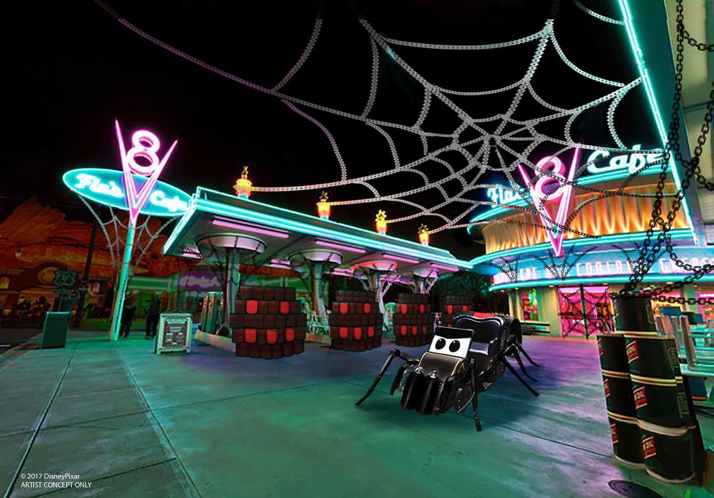 Flo's V8 Cafe Will Be Spook-ified
