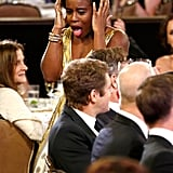 She has the most genuine, adorable reactions to winning awards.