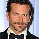 A little 'stache never hurt anybody —Bradley boasted some new facial hair at the Golden Globes in January 2012.