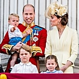 Prince George Princess Charlotte at Trooping the Colour 2019