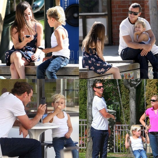 Pictures of Kingston Rossdale Getting Phone Numbers