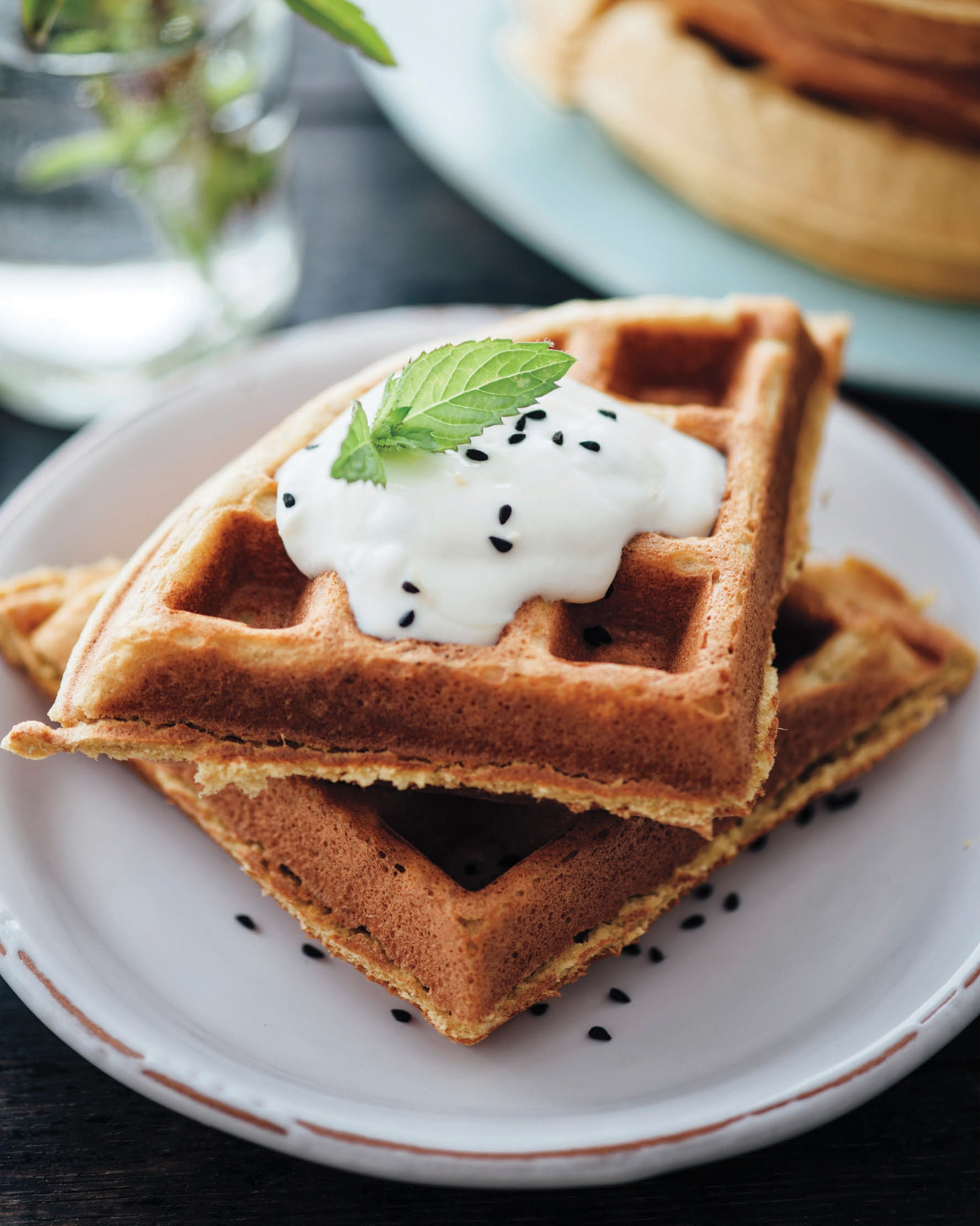 These Chickpea Waffles Are Low-Sugar, High-Protein, and 100-Percent Delicious