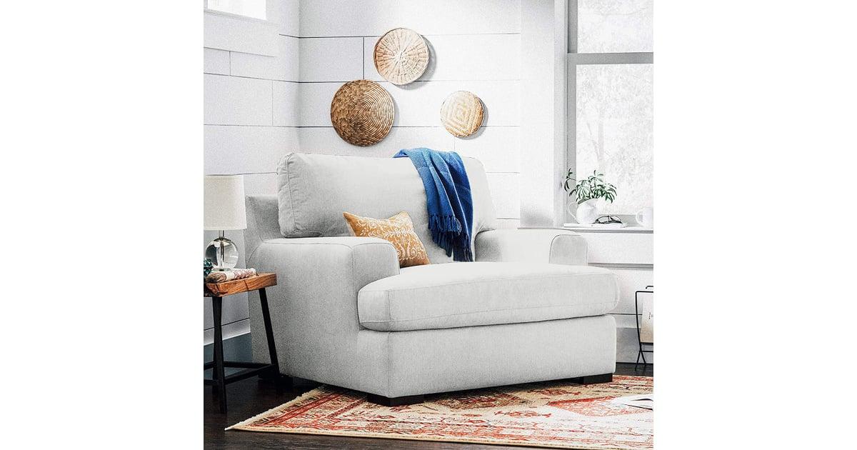 Stone & Beam Lauren Down-Filled Oversized Armchair | Best ...