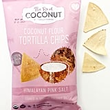 The Real Coconut Coconut Flour Tortilla Chips in Himalayan Pink Salt