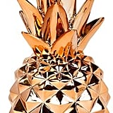 Copper Finish Pineapple Decoration