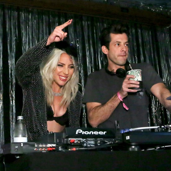"Lady Gaga and Mark Ronson ""Shallow"" Remix Grammys Afterparty"