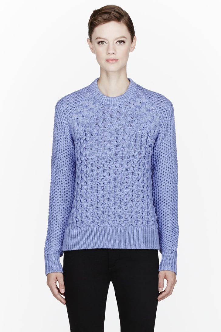 Acne cableknit sweater