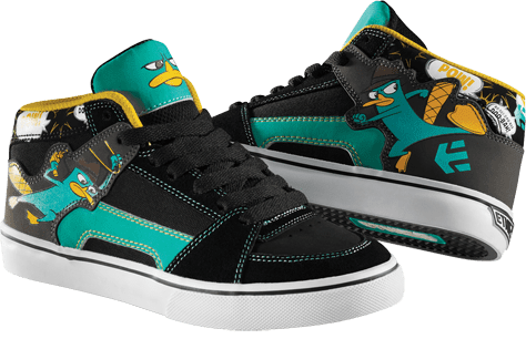 Etnies Phineas and Ferb Collection